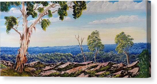 Over The Hill Canvas Print by David Belcastro