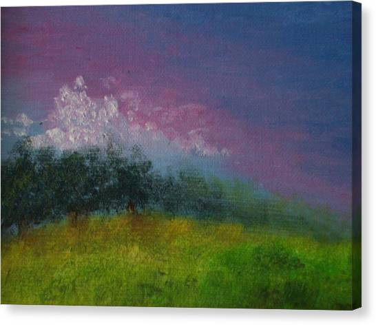 Over The Horizon Canvas Print by Margie Ridenour