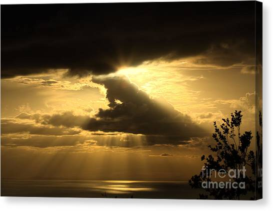 Canvas Print - Over The Ocean by Jared Shomo