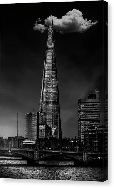 Over The Shard Canvas Print by Jackson Carvalho