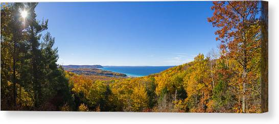 Overlook From Pierce Stocking Drive Canvas Print