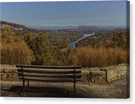 Overlooking Lake Lure Canvas Print