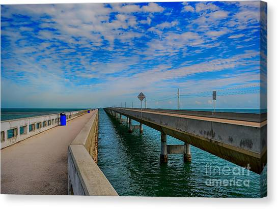 Overseas Highway Florida Keys Canvas Print