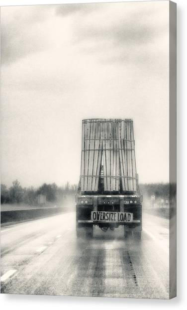 Oversized Load Canvas Print