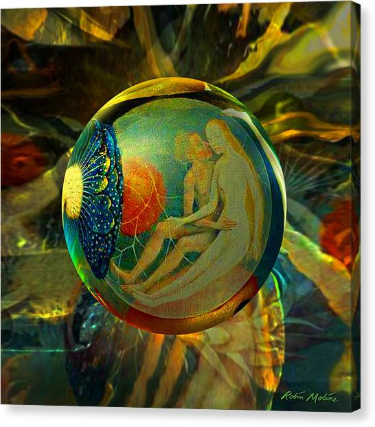 Ovule Of Eden  Canvas Print