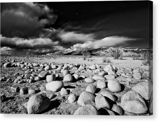 Black Rock Desert Canvas Print - Owens Dry Lakebed by Cat Connor