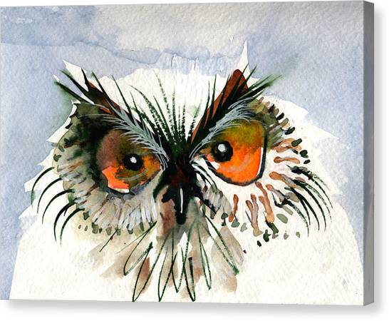 Owlitude Canvas Print