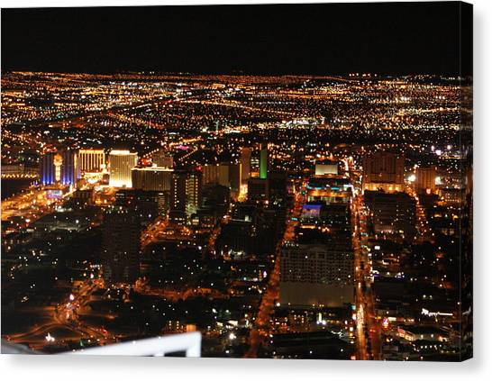 Own The Night Canvas Print by Michael Davis
