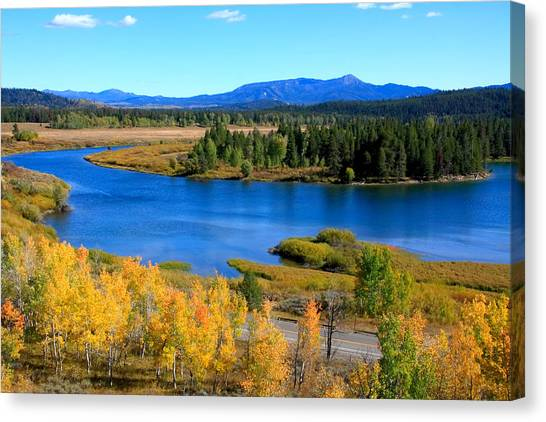 Oxbow Bend, Grand Teton National Park Canvas Print
