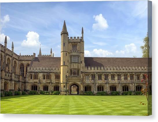 University Of Oxford Canvas Print - Oxford by Joana Kruse