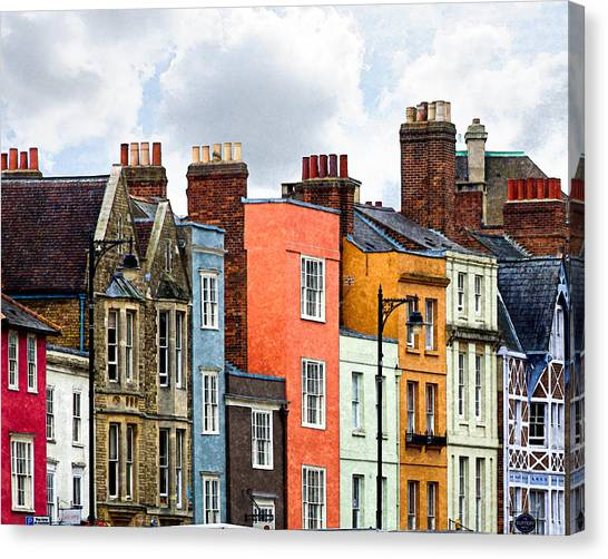 Oxford Medley Canvas Print