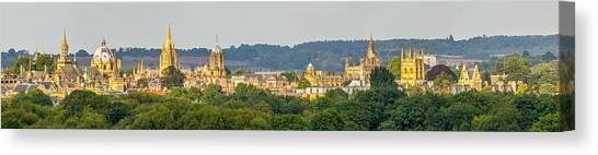 Oxford University Panorama Canvas Print