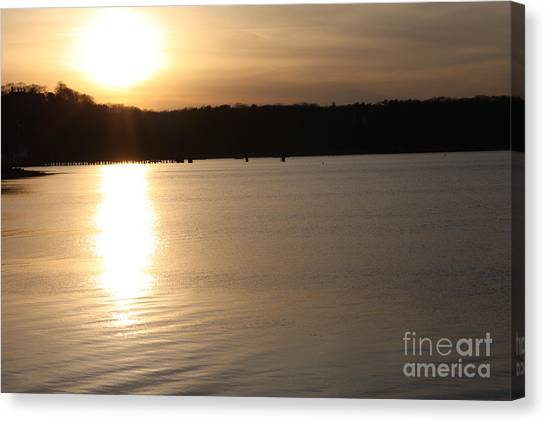 Oyster Bay Sunset Canvas Print