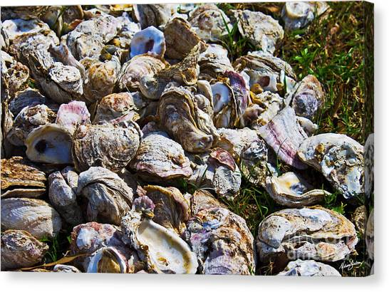 Oysters 01 Canvas Print
