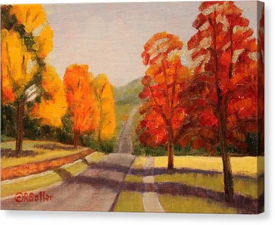 Ozarks October Canvas Print