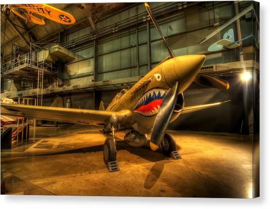 P-40 Warhawk  Canvas Print