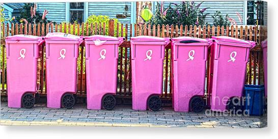 P-town Bins Canvas Print