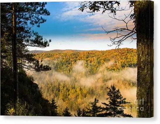 Pa Grand Canyon Canvas Print