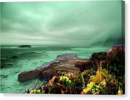 Pacific Beauty Canvas Print