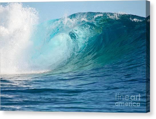 Pacific Big Wave Crashing Canvas Print