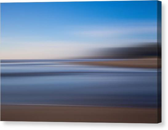 Pacific Coast Abstract Canvas Print