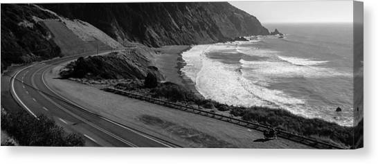 Pacific Coast Highway Canvas Print