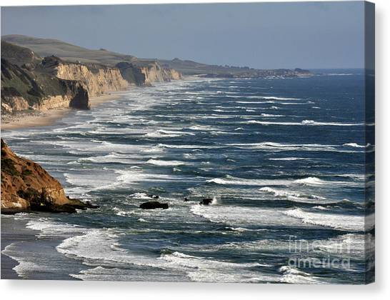 Pacific Coast - Image 001 Canvas Print