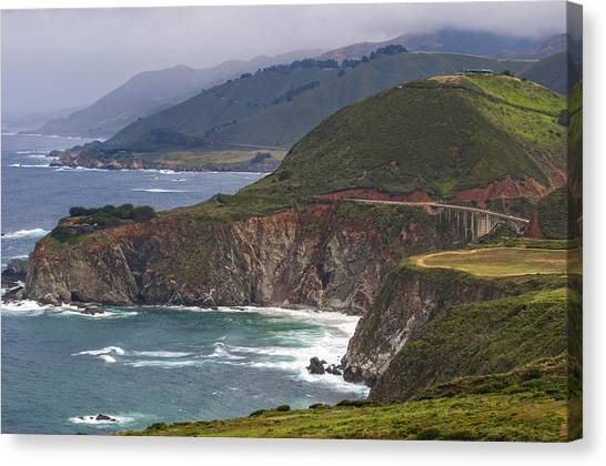 Pacific Coast View Canvas Print