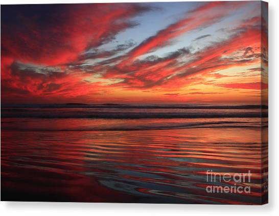 Oceanside Reflections Canvas Print
