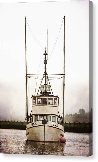 Pacific Canvas Print - Pacific Northwest Morning by Carol Leigh