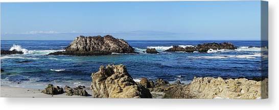 Pacific Ocean Panoramic Canvas Print