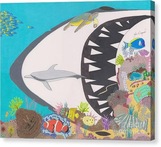Pacific Peril Canvas Print