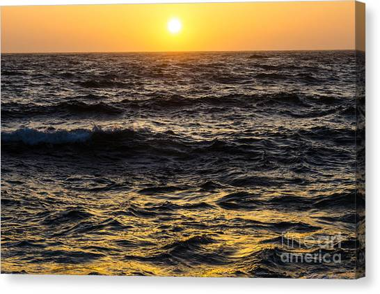 Pacific Reflection Canvas Print