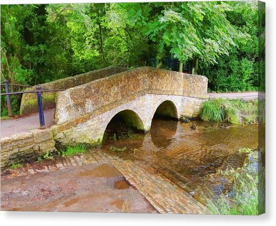 Pack Horse Bridge Canvas Print