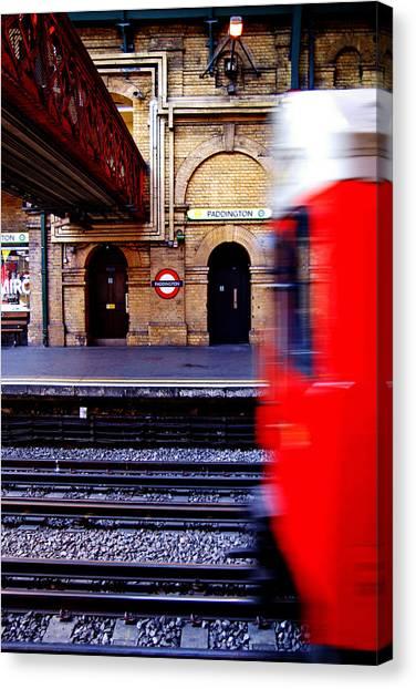 Paddington Station Tube Canvas Print