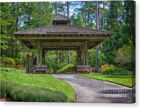 Pagoda Canvas Print by Heather Roper