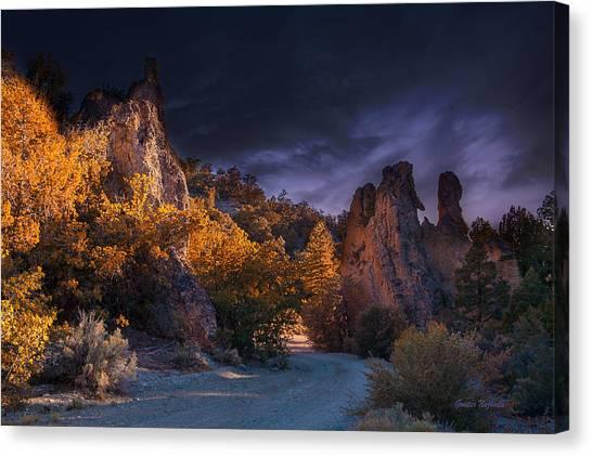 Pahrump - Road To Wheeler Peak Canvas Print