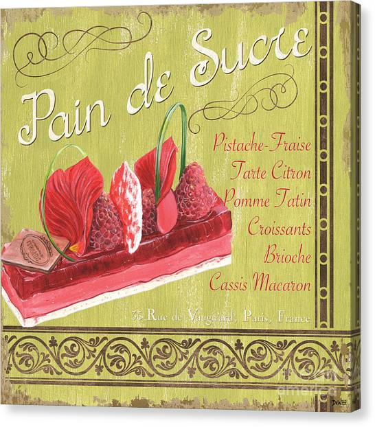 Strawberry Canvas Print - Pain De Sucre 2 by Debbie DeWitt
