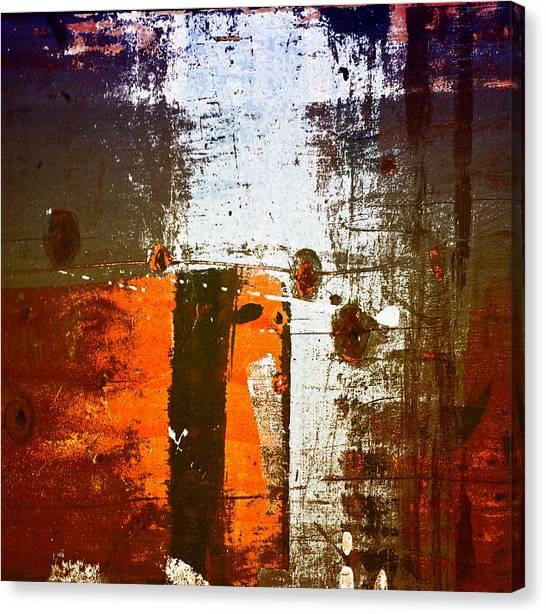 Paint Bi Color 1 Canvas Print