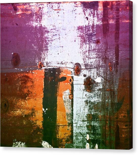 Paint Bi Color 2 Canvas Print