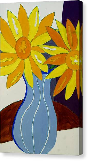 Paint By Number Canvas Print