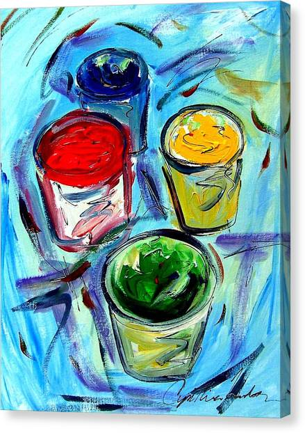 Paint Canvas Print by Cynthia Hudson