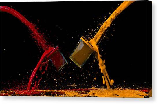 Paint Gone Wild Canvas Print