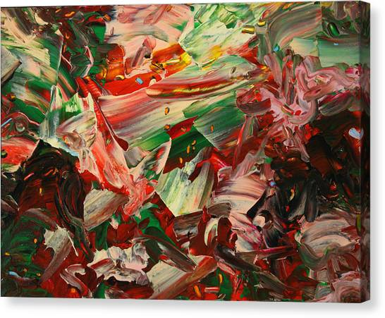 Objective Canvas Print - Paint Number 48 by James W Johnson