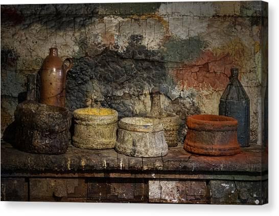 Paint Pots Canvas Print