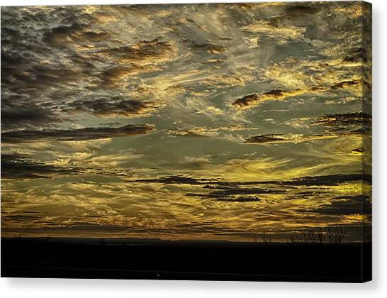 Painted By The Hand Of God Canvas Print