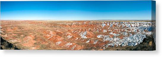 Petrified Forest Canvas Print - Painted Desert, Petrified Forest by Panoramic Images
