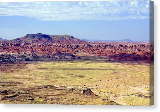 Painted Desert Vista Canvas Print by Douglas Taylor