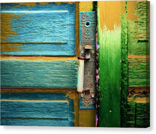 Painted Doors Canvas Print