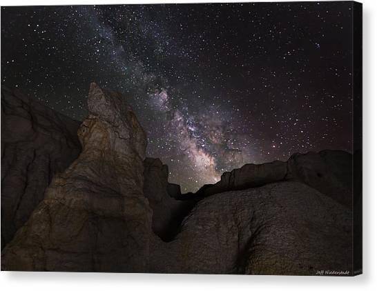 Painted Night Canvas Print